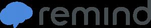 The horizontal Remind App Logo